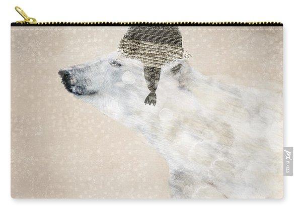 A Warm Polar Bear Carry-all Pouch