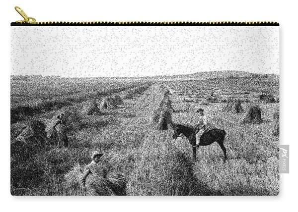 A Wheat Field, Kerry And Co, Sydney, Australia, C. 1884-1917 3 Carry-all Pouch