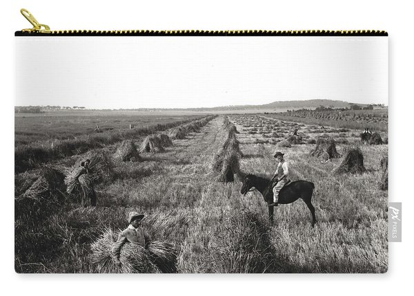 A Wheat Field, Kerry And Co, Sydney, Australia, C. 1884-1917 Carry-all Pouch