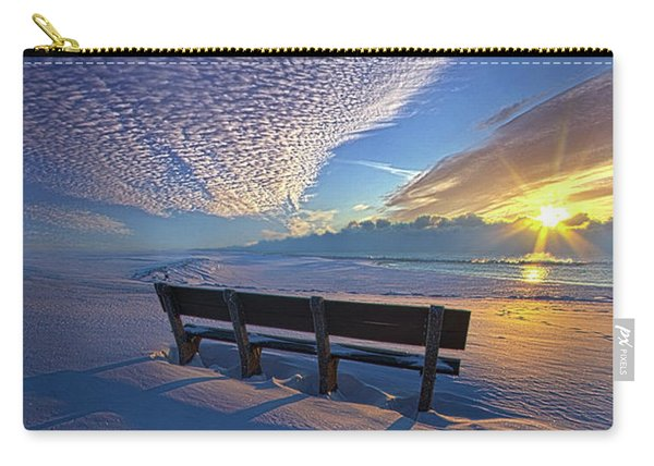 A Whole World In Front Of Us Carry-all Pouch