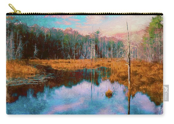 A Wilderness Marsh Carry-all Pouch