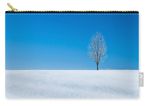 A Winter's Landmark Carry-all Pouch