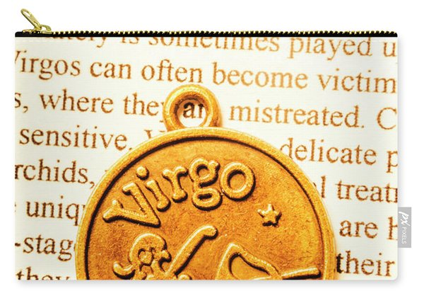 A Zodiac Theme In Virgo Carry-all Pouch