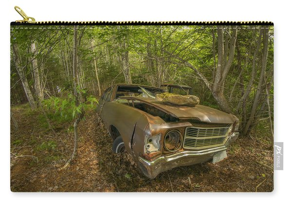 Abandoned Chevelle In Cape Breton Carry-all Pouch