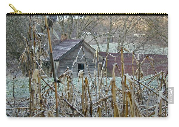 Abandoned Farmhouse And Cornfield Carry-all Pouch
