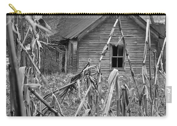 Abandoned Farmhouse Through Cornfield Carry-all Pouch