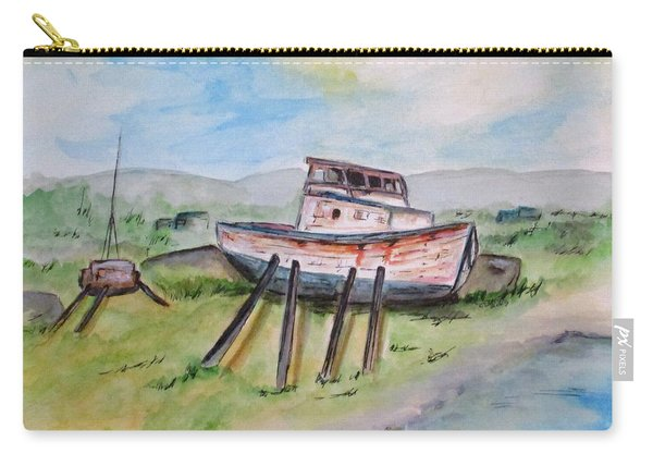 Abandoned Fishing Boat Carry-all Pouch