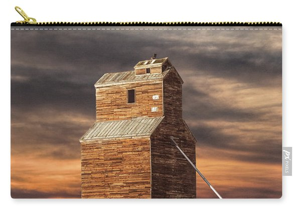 Abandoned Grain Elevator On The Prairie Carry-all Pouch