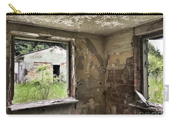 Abandoned Old Ammunition Depot Of The Belgian Army  Carry-all Pouch