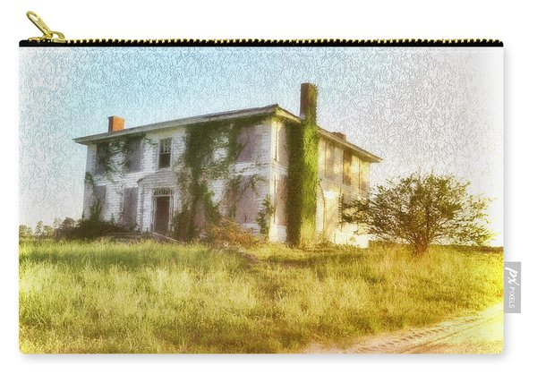 Abandoned Old House In Isle Of Wight Virginia Carry-all Pouch