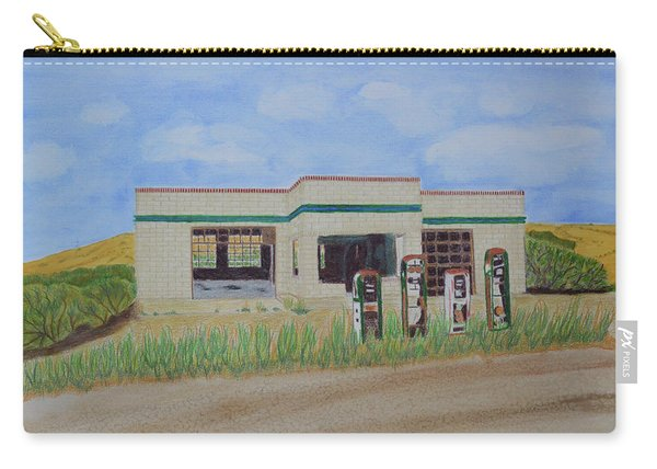 Abandoned Wyoming Gas Station Carry-all Pouch