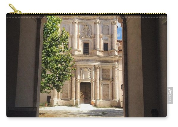 Abbey Of The Holy Spirit At Morrone In Sulmona, Italy Carry-all Pouch