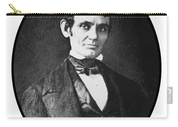 Abe Lincoln As A Young Man  Carry-all Pouch