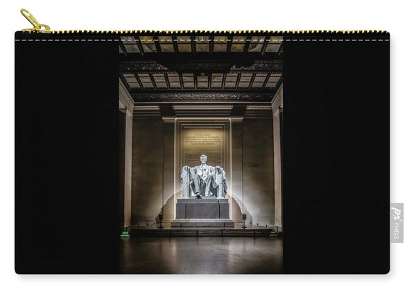Abe Lincoln Under His Night Lights  Carry-all Pouch