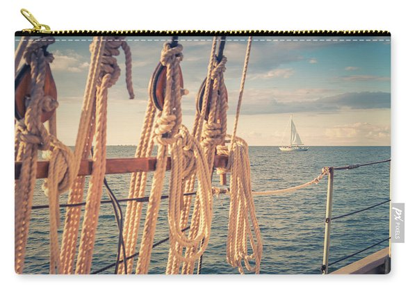 Aboard The Edith M Becker Carry-all Pouch