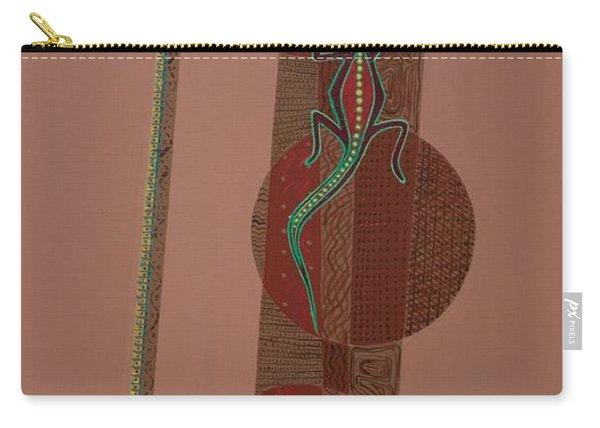 Aboriginal Lizard Carry-all Pouch