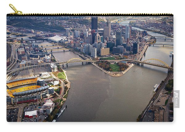 Above Pittsburgh In  Color  Carry-all Pouch