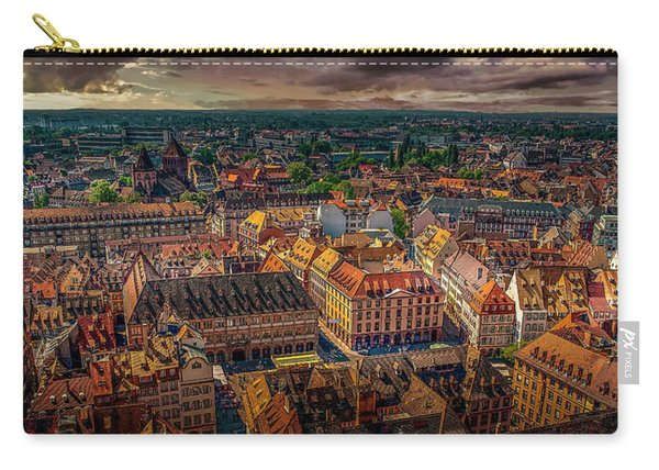 Above Strasbourg Carry-all Pouch
