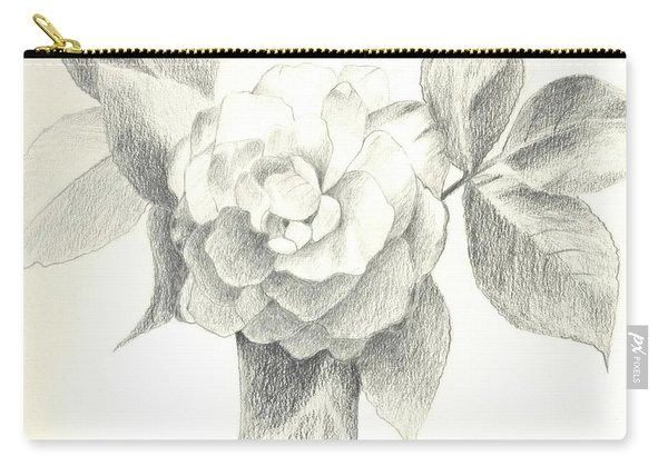 Carry-all Pouch featuring the drawing Abracadabra by Helena Tiainen