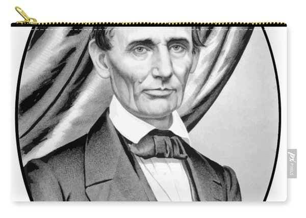 Abraham Lincoln Circa 1860 Carry-all Pouch