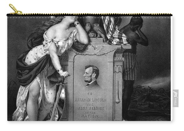 Abraham Lincoln In Memoriam  Carry-all Pouch
