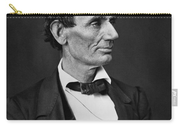 Abraham Lincoln Photo Portrait Carry-all Pouch
