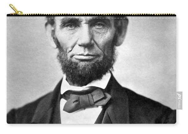 Abraham Lincoln Portrait - 1863 Carry-all Pouch
