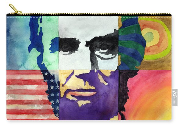Abraham Lincoln Portrait Study Carry-all Pouch