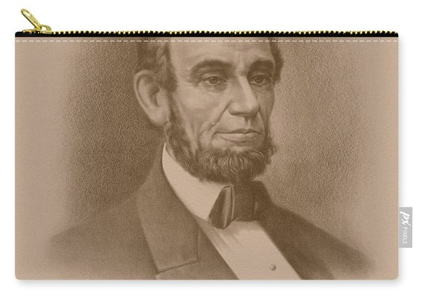 Abraham Lincoln - Savior Of His Country Carry-all Pouch