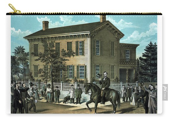 Abraham Lincoln's Return Home Carry-all Pouch