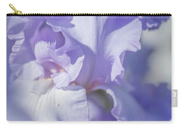 Absolute Treasure Closeup 2. The Beauty Of Irises Carry-all Pouch
