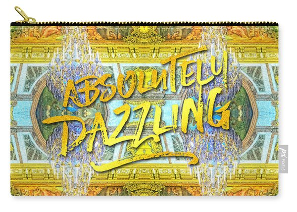 Absolutely Dazzling Hall Of Mirrors Versailles Palace Paris Carry-all Pouch