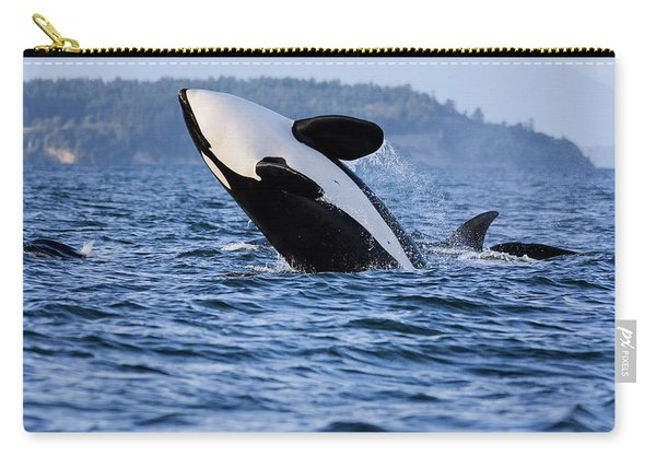 Absolutely Free - Whale Art Carry-all Pouch
