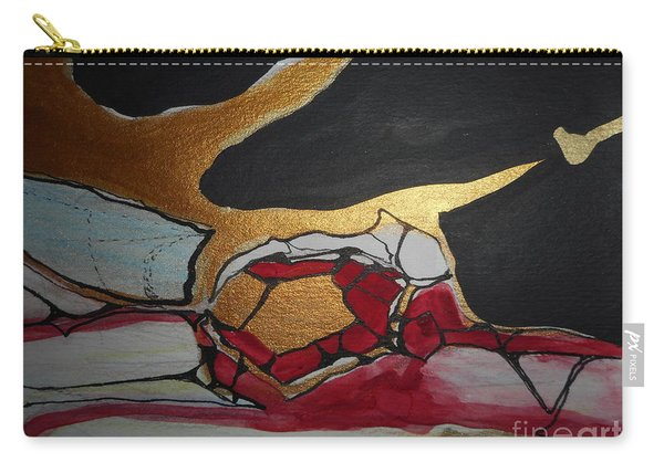 Abstract-11 Carry-all Pouch