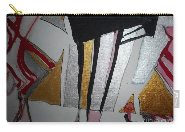 Abstract-13 Carry-all Pouch