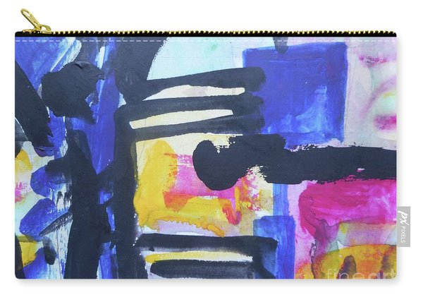 Abstract-16 Carry-all Pouch