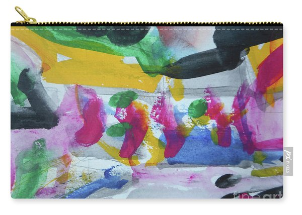 Abstract-17 Carry-all Pouch