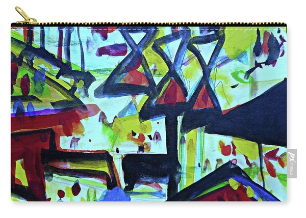 Abstract-27 Carry-all Pouch
