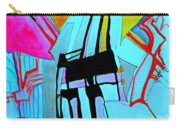 Abstract-28 Carry-all Pouch
