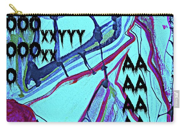 Abstract-29 Carry-all Pouch