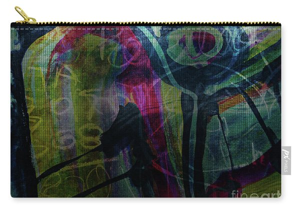 Abstract-30 Carry-all Pouch
