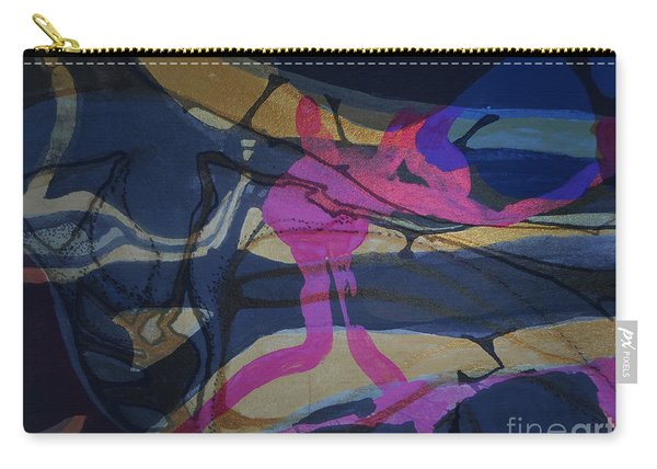 Abstract-33 Carry-all Pouch