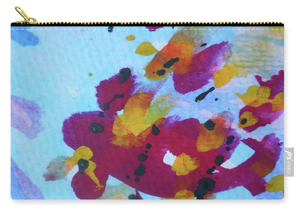 Abstract-6 Carry-all Pouch