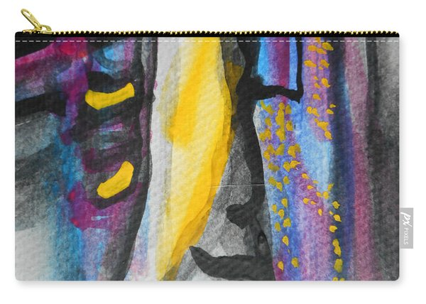 Abstract-8 Carry-all Pouch
