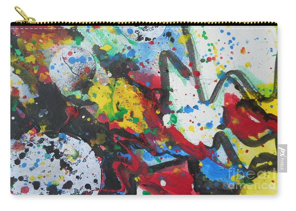 Abstract-9 Carry-all Pouch