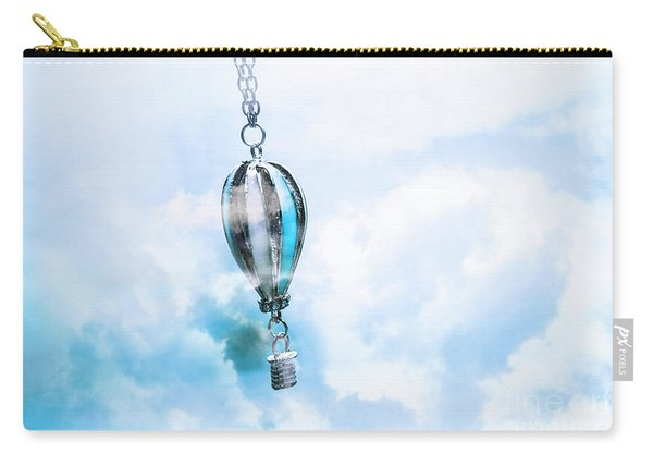 Abstract Air Baloon Hanging On Chain Carry-all Pouch