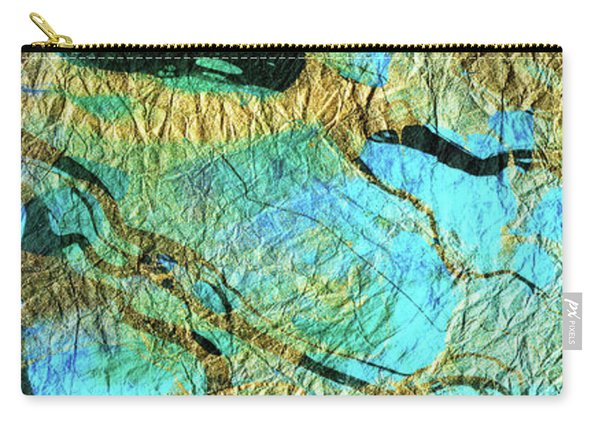 Abstract Art - Deeper Visions 3 - Sharon Cummings Carry-all Pouch