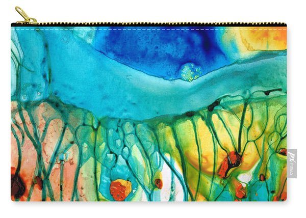 Abstract Art - Journey To Color - Sharon Cummings Carry-all Pouch