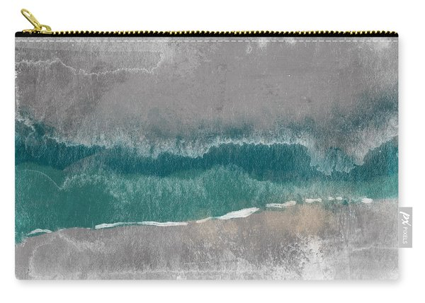Abstract Beach Landscape- Art By Linda Woods Carry-all Pouch
