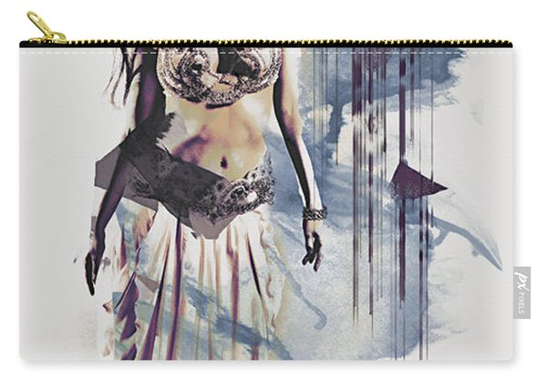 Abstract Bellydancer Carry-all Pouch